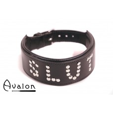 Avalon - YOU'RE MY - Collar Slut - Sort