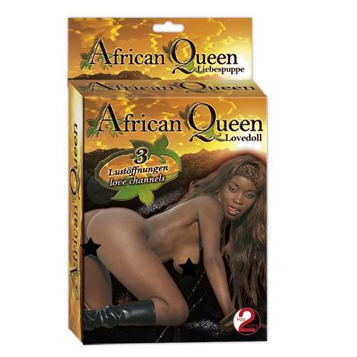 African Queen Love Doll - Oppblåsbar Dukke