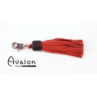 Avalon - Lang Nøkkelringflogger, rød