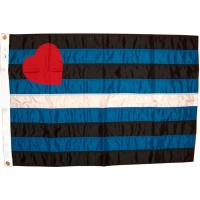 Leatherprideflagg - 60x90 cm