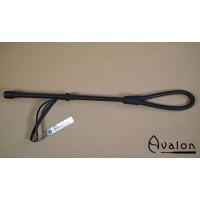 Avalon - Sort Loop ridepisk i lær