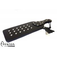 Avalon - Beast - Massiv paddle med nagler - sort