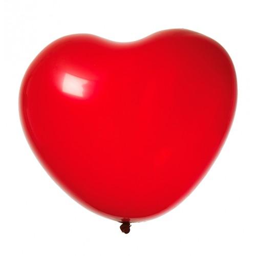 Hjerteformede ballonger, 8pk