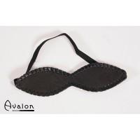 Avalon - Blindfold med søm - Sort