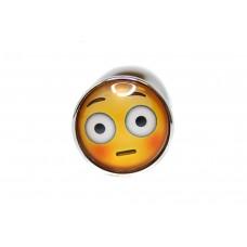 BQS - Buttplug med emoji - Flau Smiley