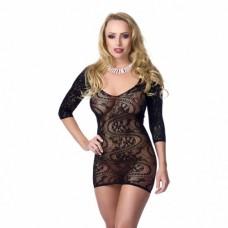 Amorable - Minikjole i netting med sexy mønster