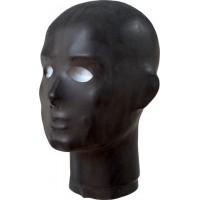 Anatomisk Maske i Latex, Sort