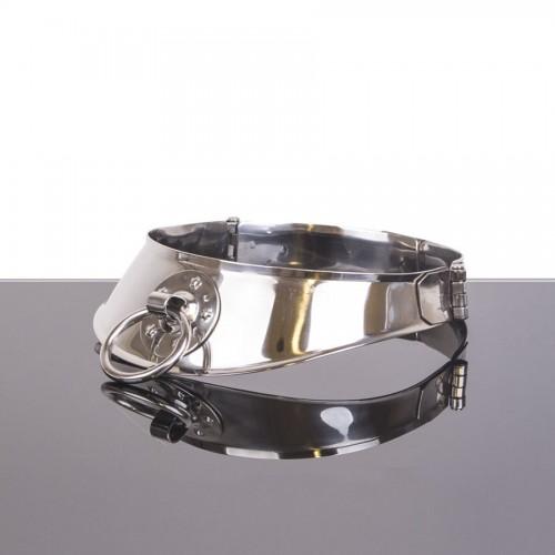 Cleopatra collar med lås og O-ring (12cm)